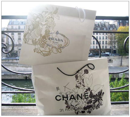 Customized shopping bags,2006