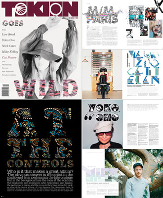 TOKION NY Art Direction&Graphic Design